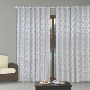 cortina jacquard